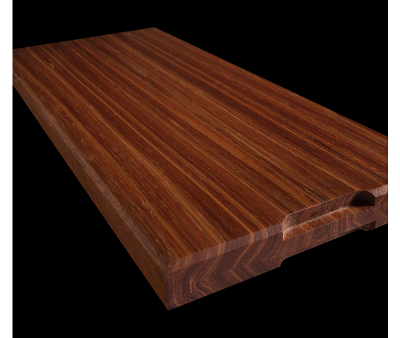 Chopping Board Christmas Gift with Designer Hardwood