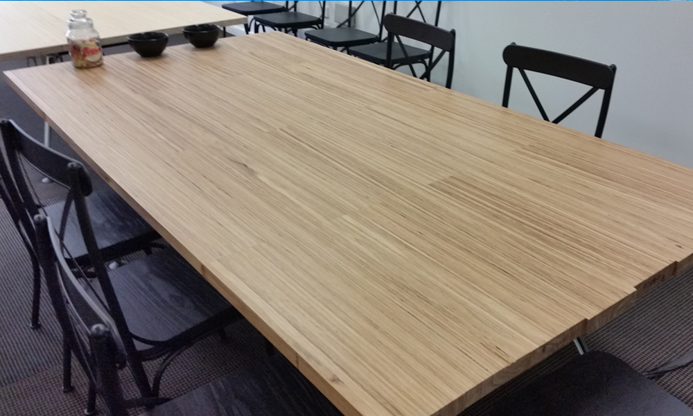 Designer Hardwood Sustainable Wood Boardroom Tables