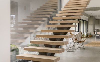 Using Designer Hardwood Stairtreads to create your dream staircase